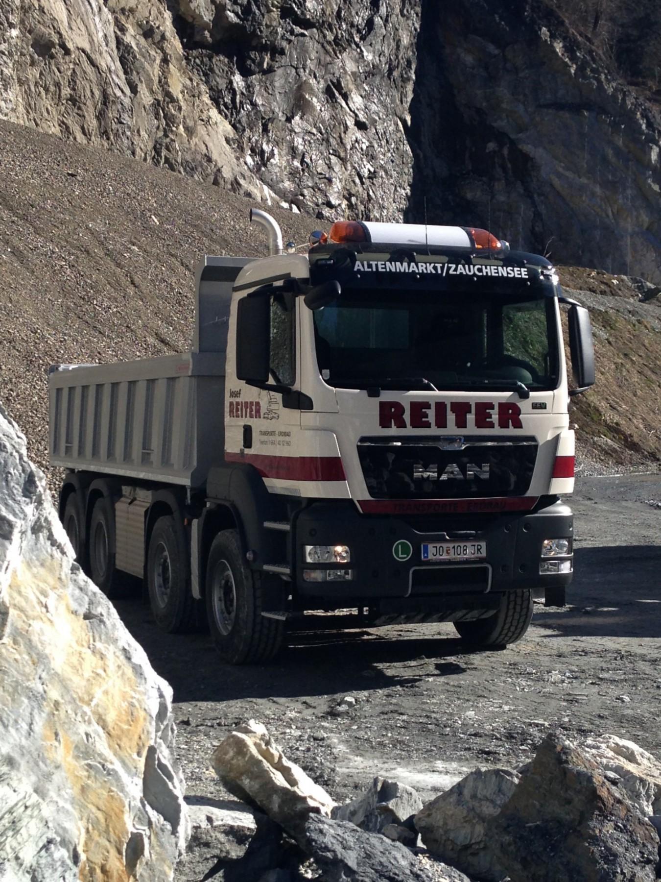 Unternehmen Erdbau Transporte Reiter Altenmarkt